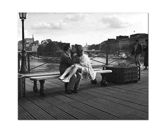 Edouard Boubat Paris Pon des Arts