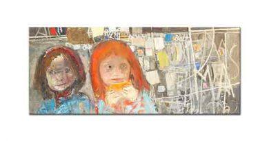 Joan Eardley, Çocuklar ve Resimli Duvar