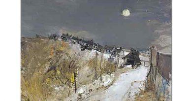 Joan Eardley, Kış Manzarası Catterline