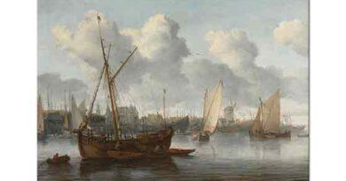 Allaert van Everdingen Limanda Balıkçı Tekneleri