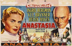 Anastasia (1956) Film Afişi