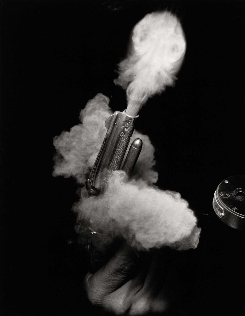 Harold Eugene Edgerton Antik Silah Ateşlenirken