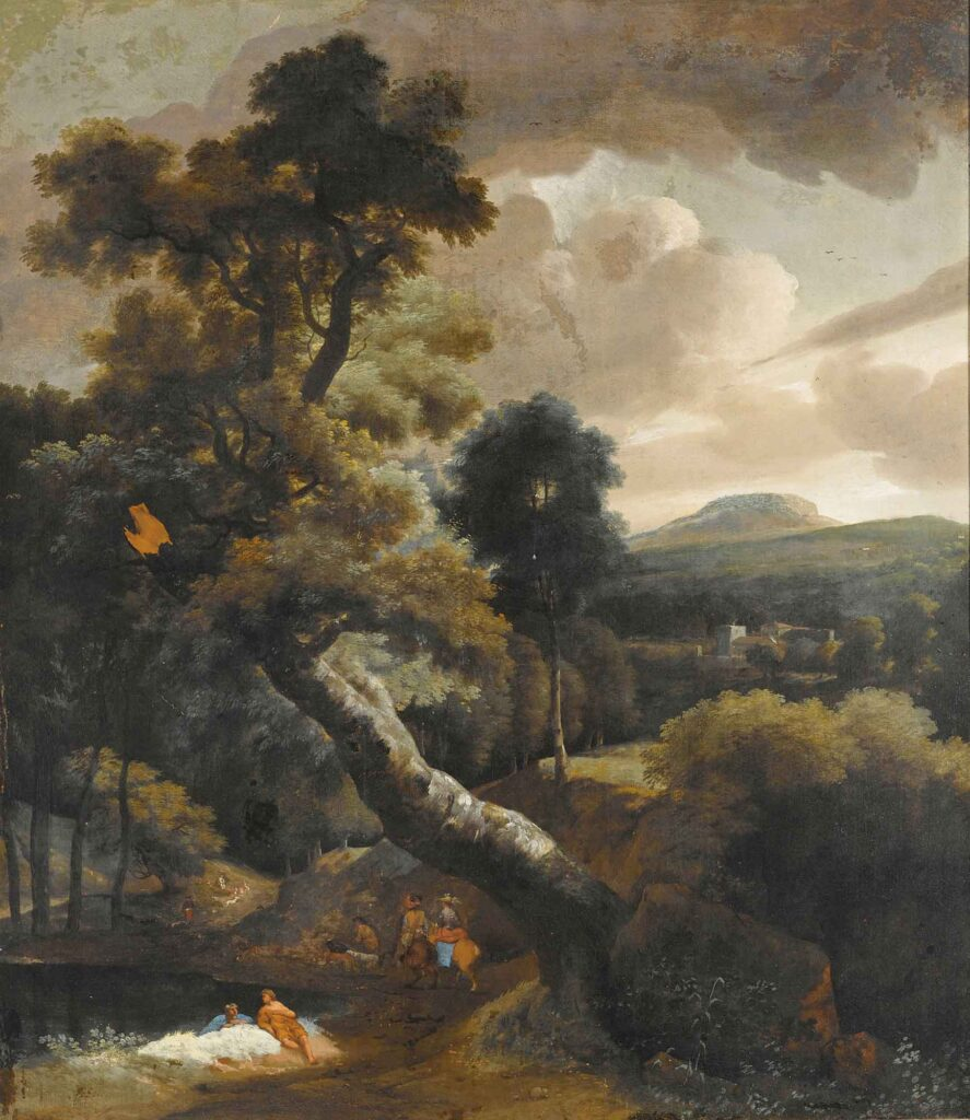 Jacob Esselens Ağaçlar ve Tepeler