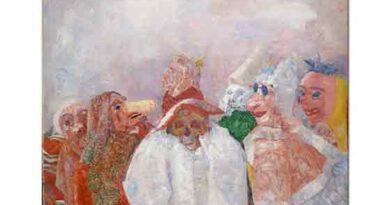 James Ensor Ölümle Yüzleşen Maskeler