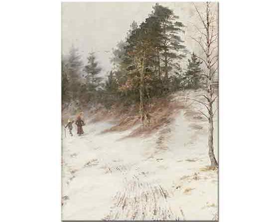 Knut Ekwall Kış Manzarası