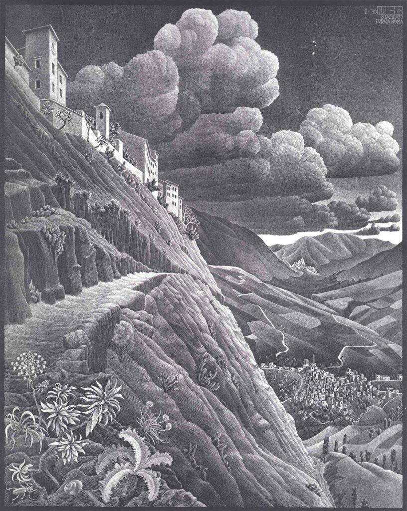 Maurits Cornelis Escher Castrovalva