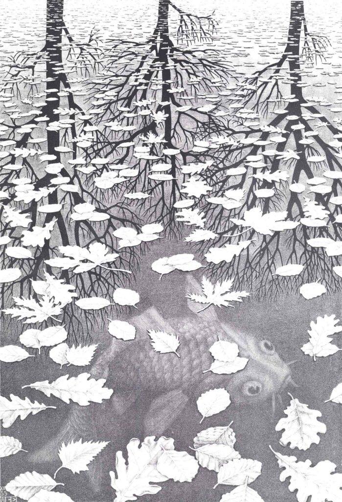Maurits Cornelis Escher üç Dünya