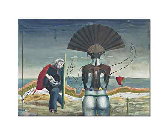 Max Ernst Kadın Yaşlı Adam ve Çiçek