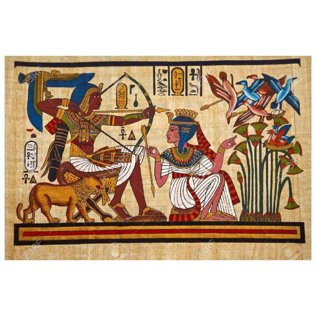 Mısır Resminde Konular