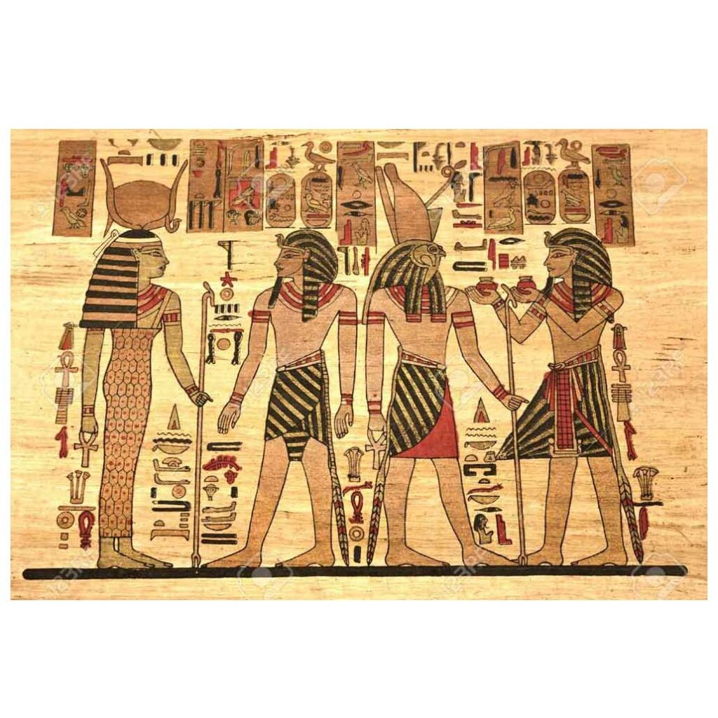 Mısır Resminde Teknik ve Üsluplar