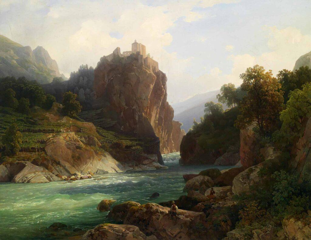 Thomas Ender Zeno Kalesine Bakış