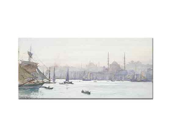 Tristram Ellis İstanbul Manzarası