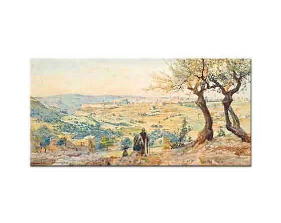 Tristram Ellis Kudüs Manzarası