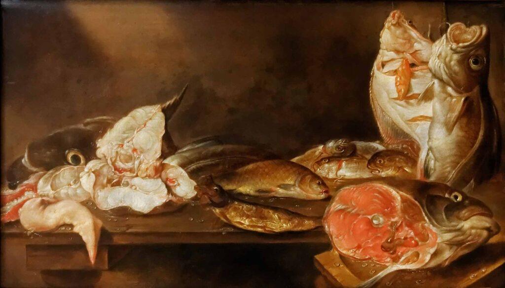 Alexander Adriaenssen Balıklı Natürmort