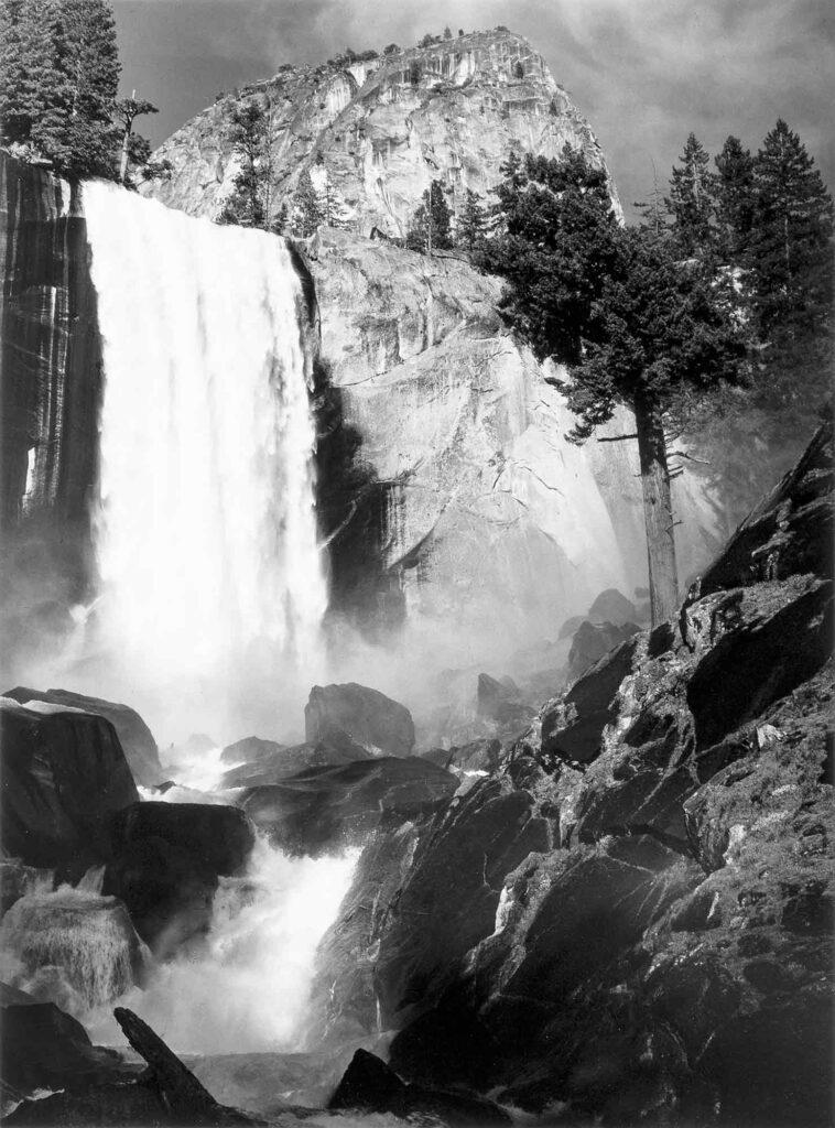 Ansel Adams Vernal Şelalesi Yosemite