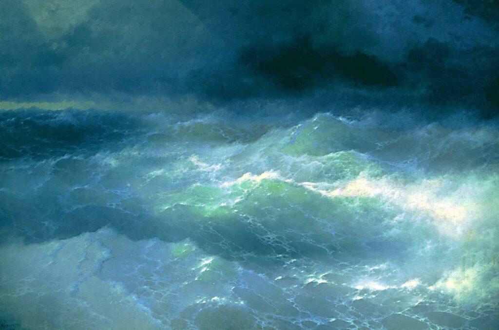 Ayvazovski Dalgalar Arasında