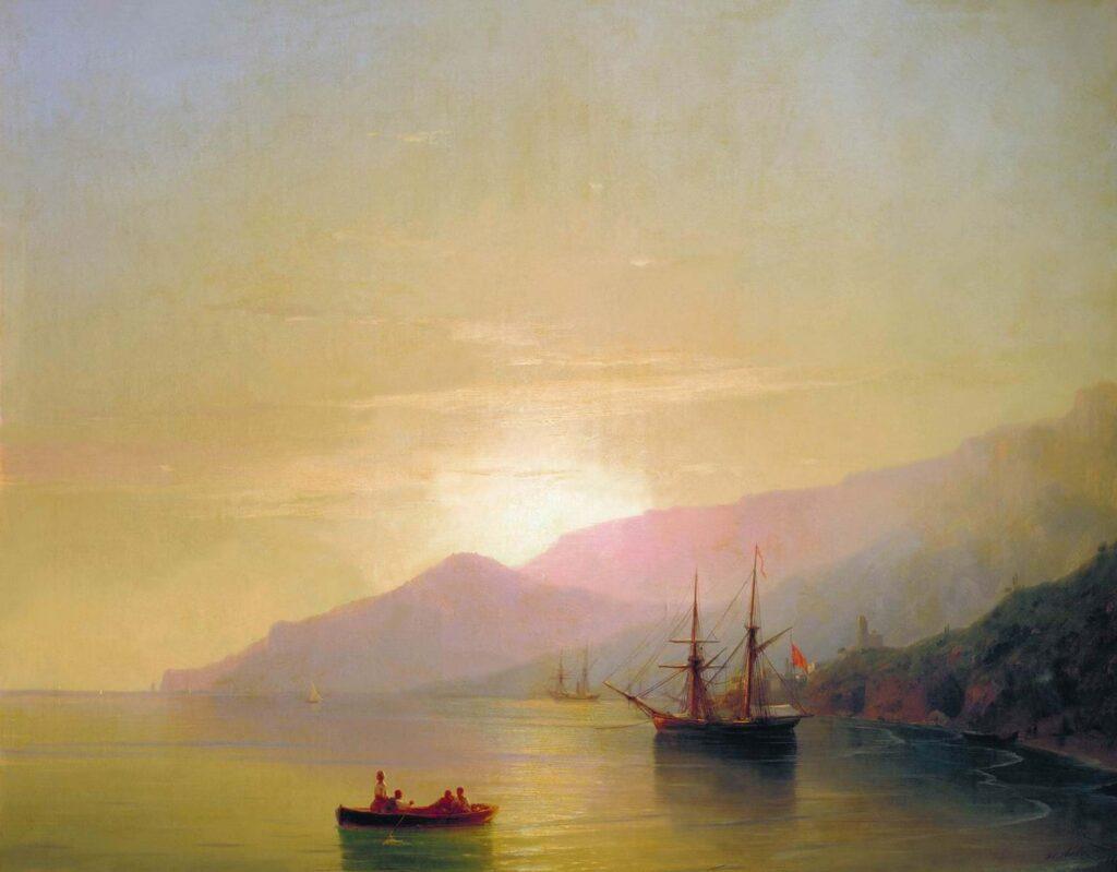 Ayvazovski Demirli Gemiler