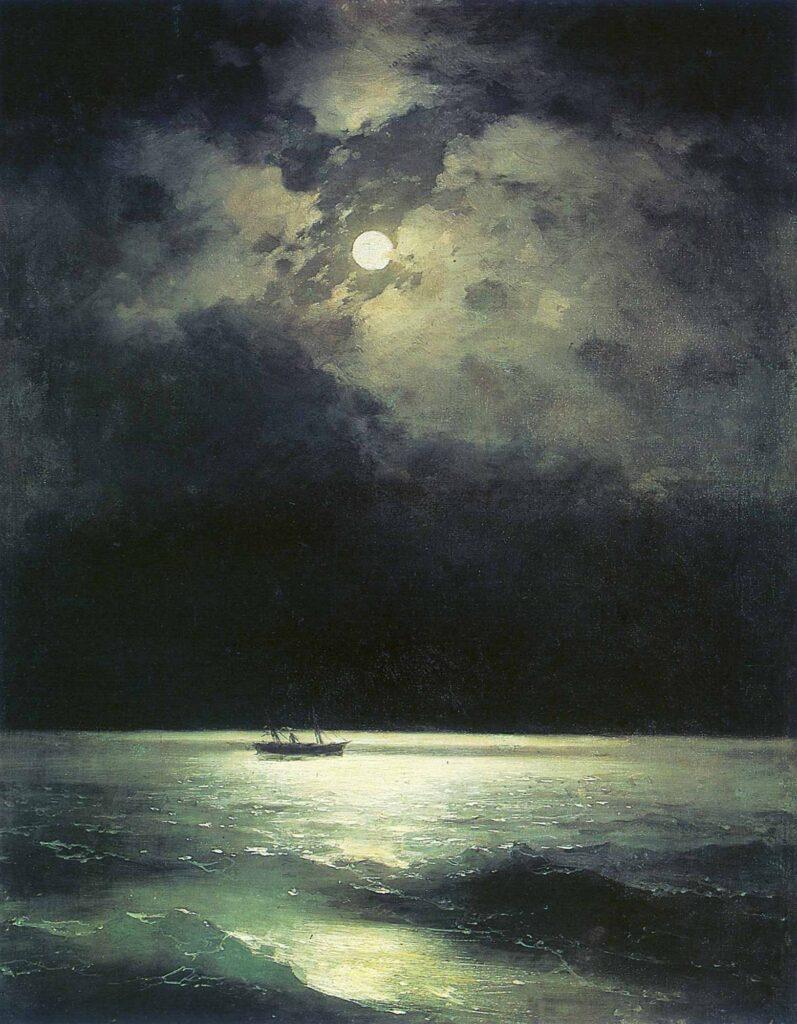 Ayvazovski Gece Karadeniz