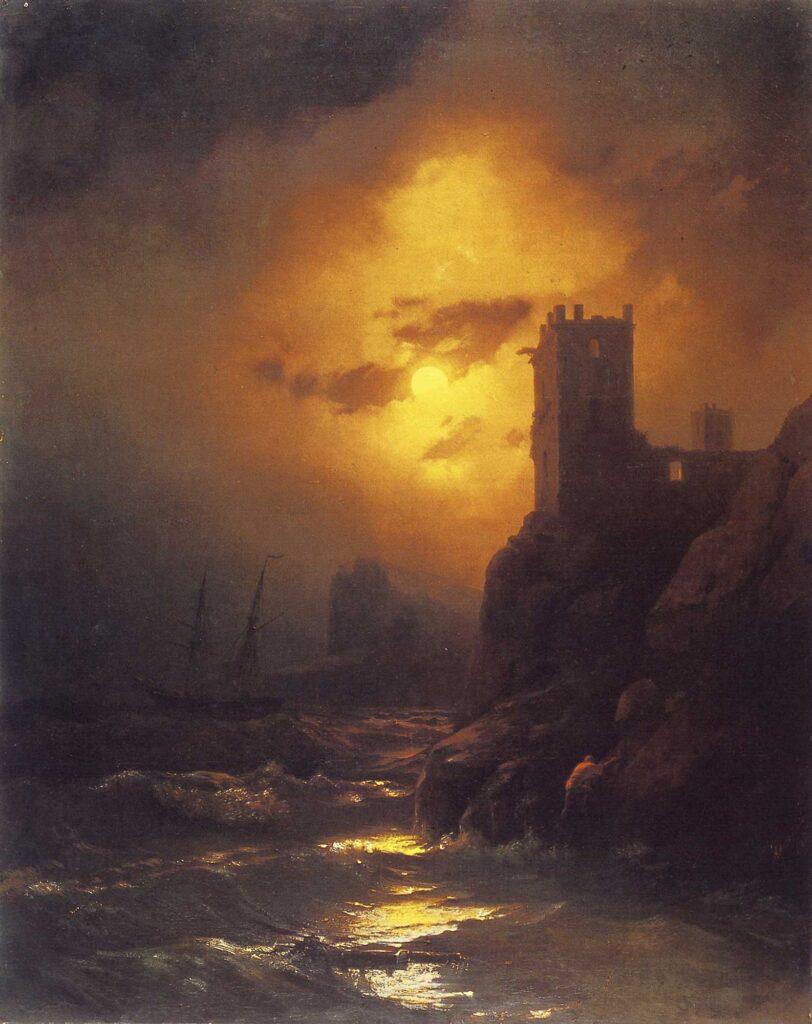 Ayvazovski Gemi Kazası ve Kule