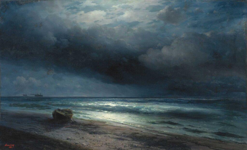 Ayvazovski Mehtapta Deniz Kıyısı