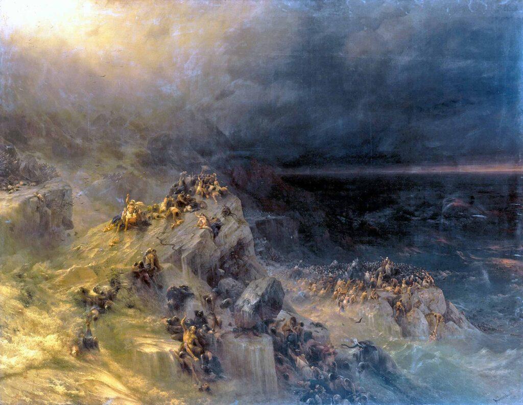 Ayvazovski Nuh Tufanı