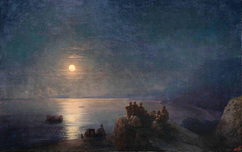 Ayvazovski Yunanistan'da Mehtap