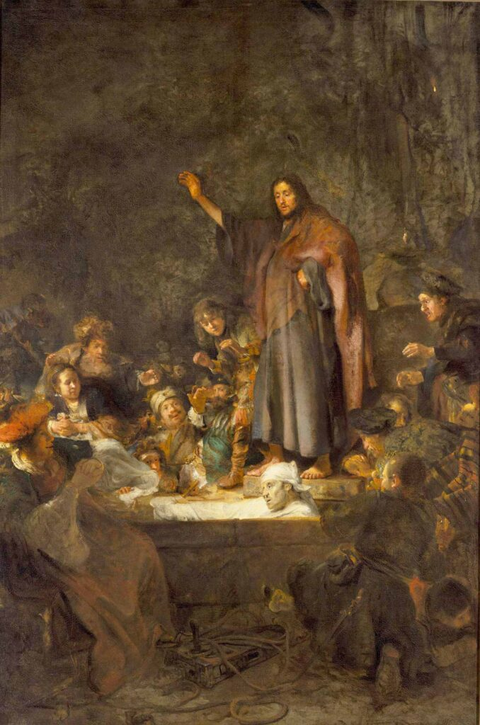 Carel Fabritius Lazarus'un Dirilişi