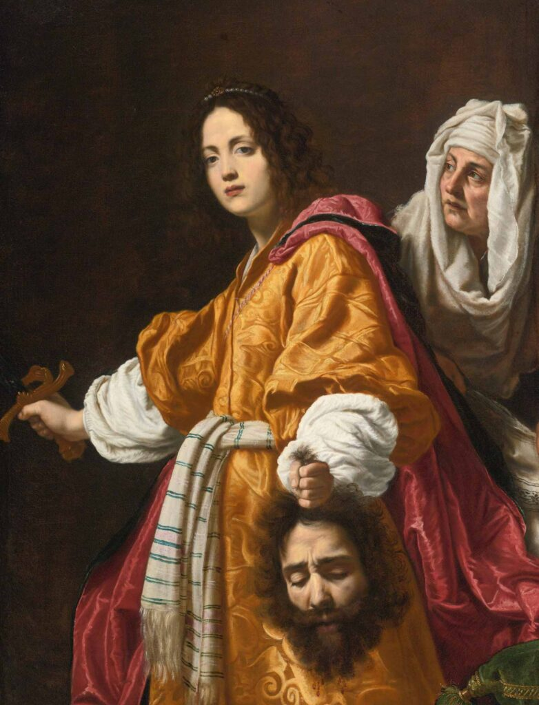 Cristofano Allori Holofernes'in Kafası ile Judith