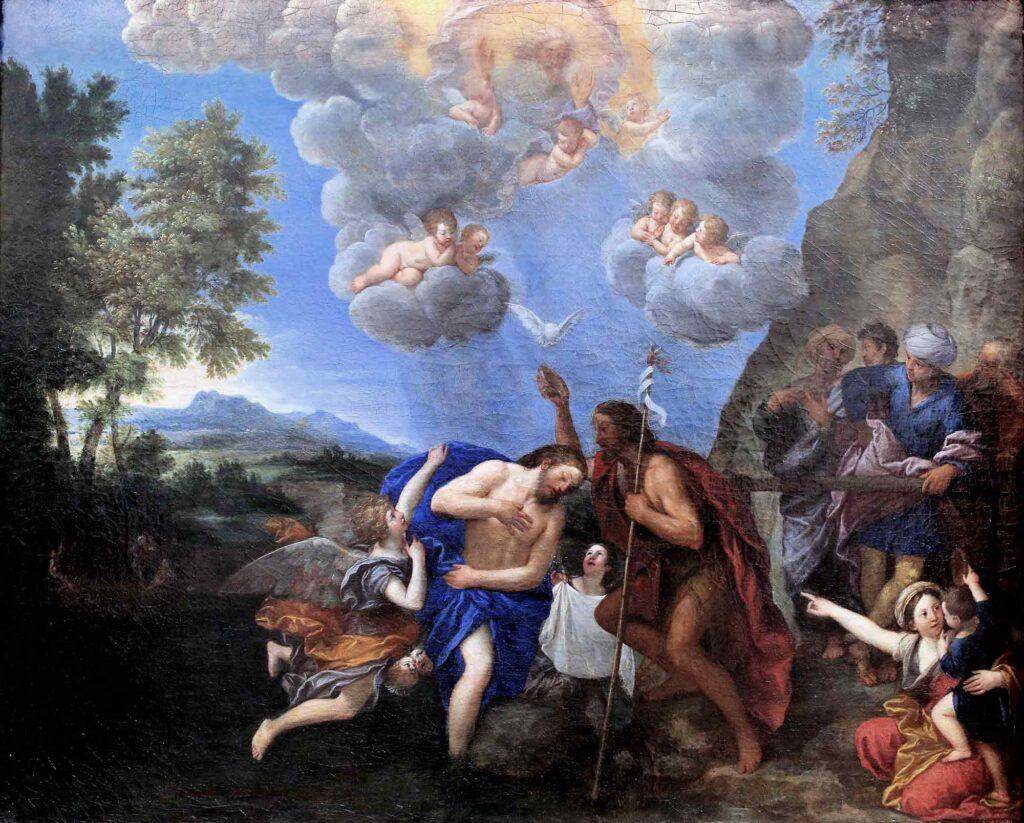 Francesco Albani Isa'nın Vaftizi