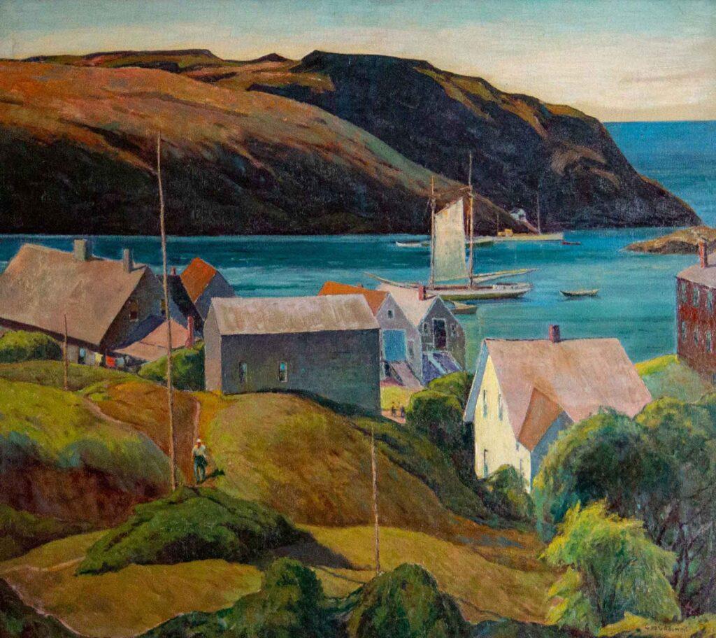 George Adomeit Monhagen Adasında Liman