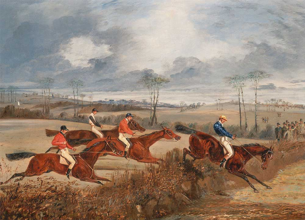 Henry Thomas Alken Engelli Yarıştan