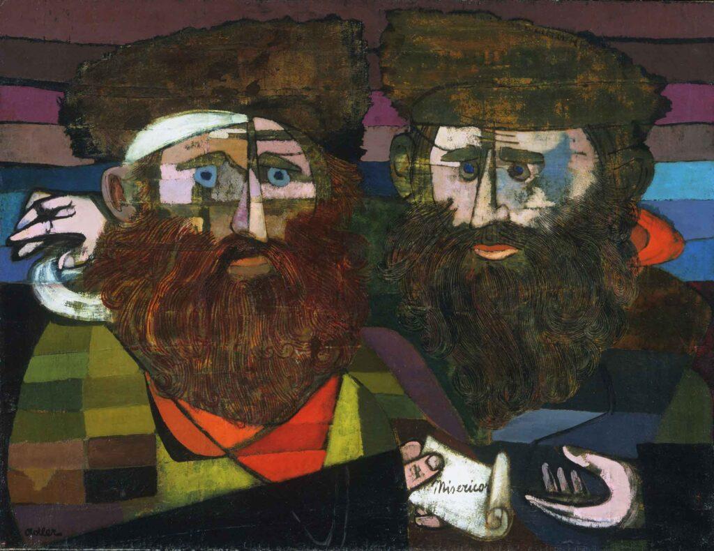 Jankel Adler İki Rabbi