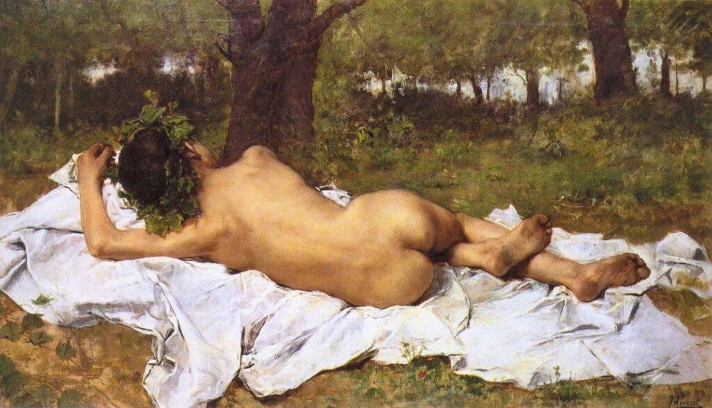 Joaquin Agrasot Baküs Dinlenirken