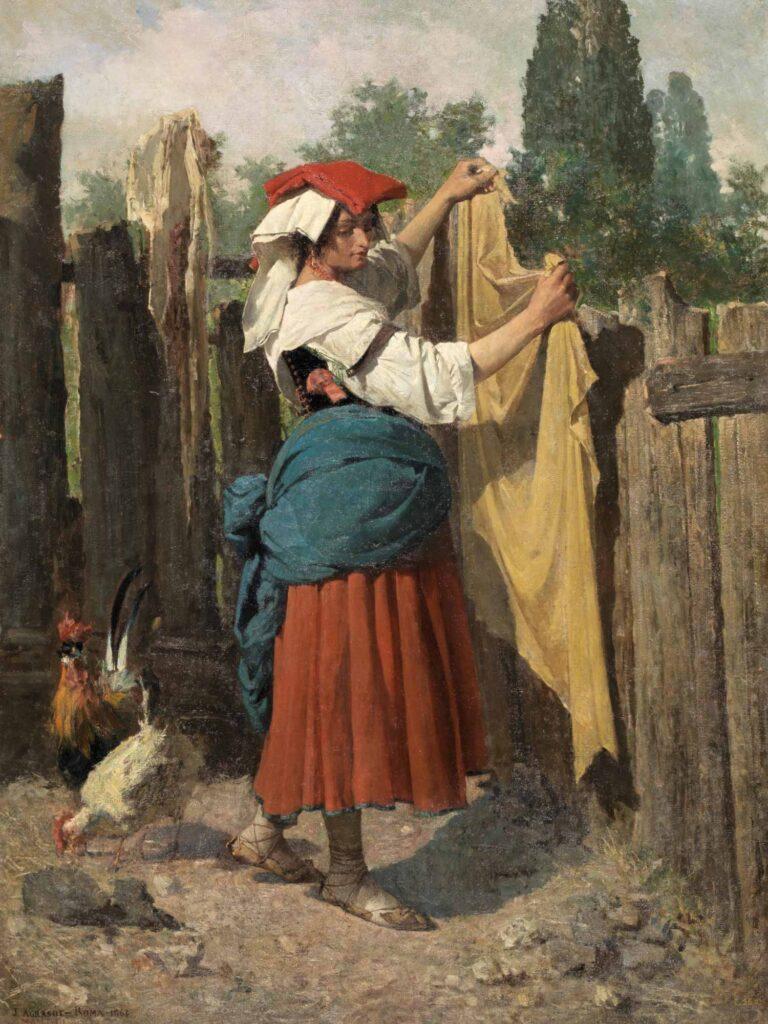 Joaquin Agrasot Çamaşır Günü