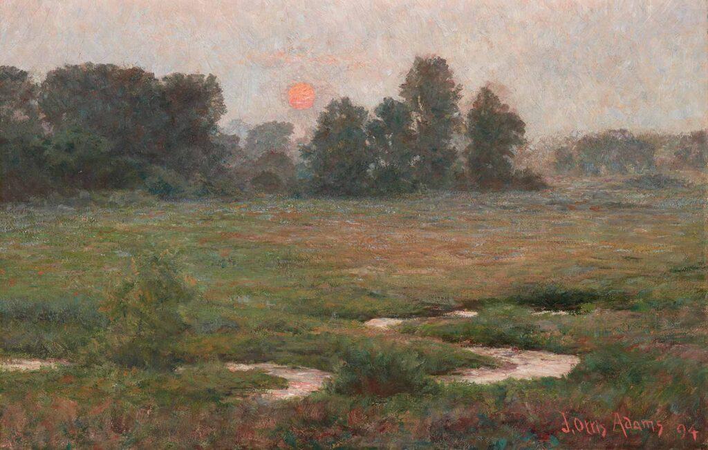 John Ottis Adams Ağustos'ta Günbatımı