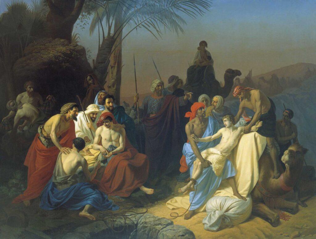 Konstantin Flavitsky Yakub'un Çocukları Kardeşleri Joseph'i Satarken