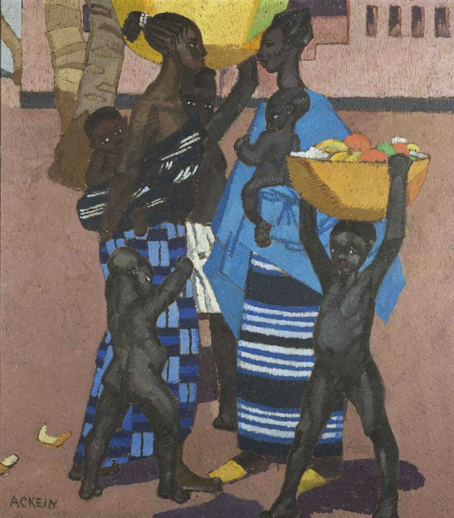 Marcelle Ackein Kadınlar ve Çocuklar Gine