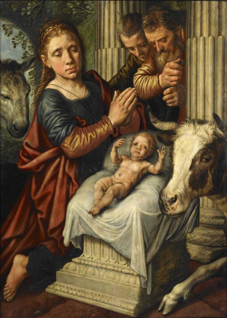 Pieter Aertsen Çobanların Tapınması