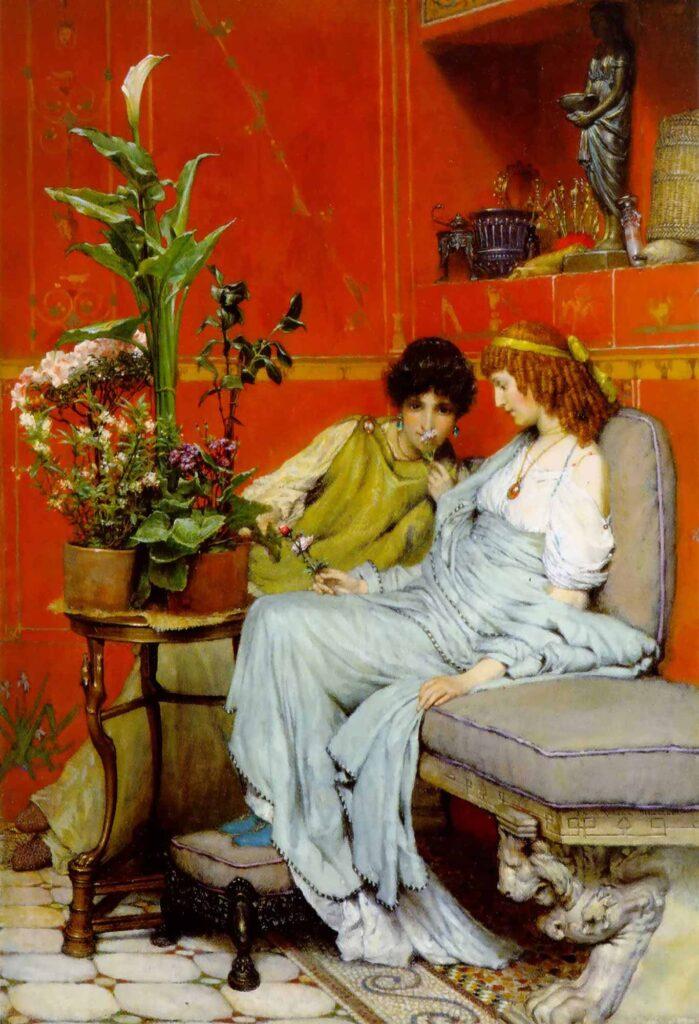 Sir Lawrence Alma Tadema Sırdaşlar