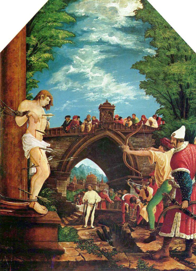 Albrecht Altdorfer Aziz Sebastian'ın idamı - Martyrdom of St Sebastian