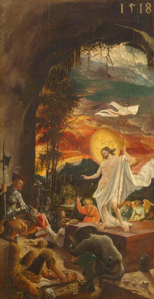 Albrecht Altdorfer İsa'nın Dirilişi - The Resurrection of Christ
