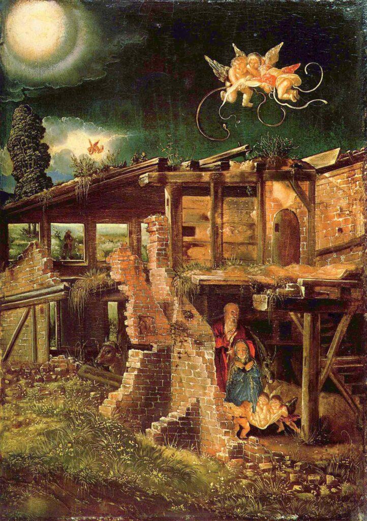 Albrecht Altdorfer Kutsal Gece - Holy Night