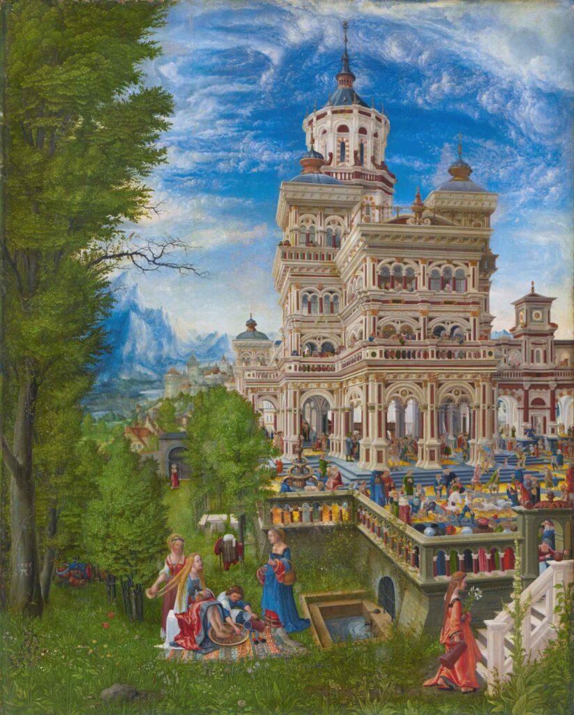 Albrecht Altdorfer Susanna Banyoda - Susanna in the Bath