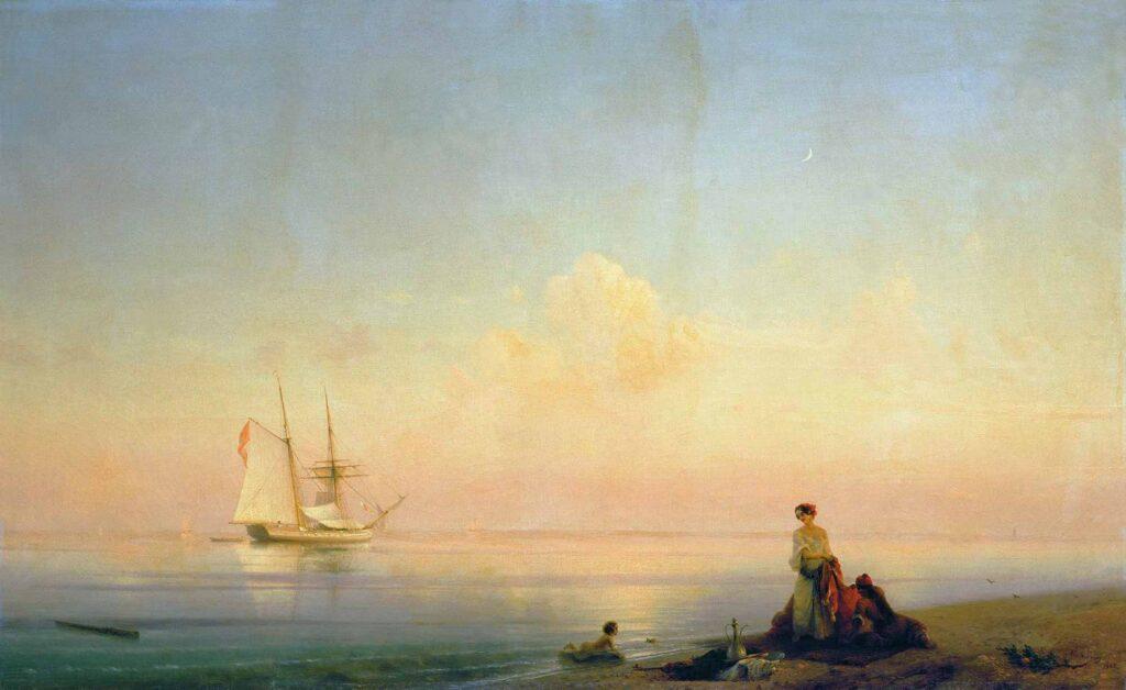 Ayvazovski Calm Sahili
