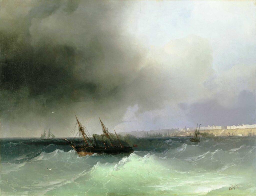 Ayvazovski Denizden Odessa