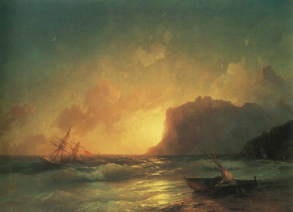 Ayvazovski Koktebel Denizi