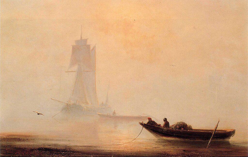 Ayvazovski Limanda Balıkçı Tekneleri
