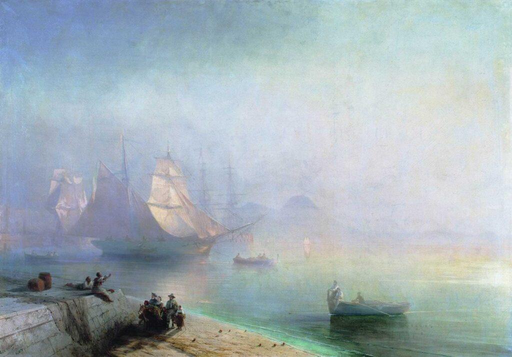 Ayvazovski Napoli Körfezinde Sabah