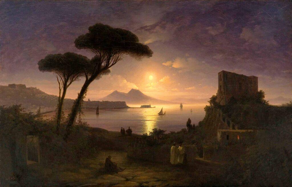 Ayvazovski Napoli'de Mehtap