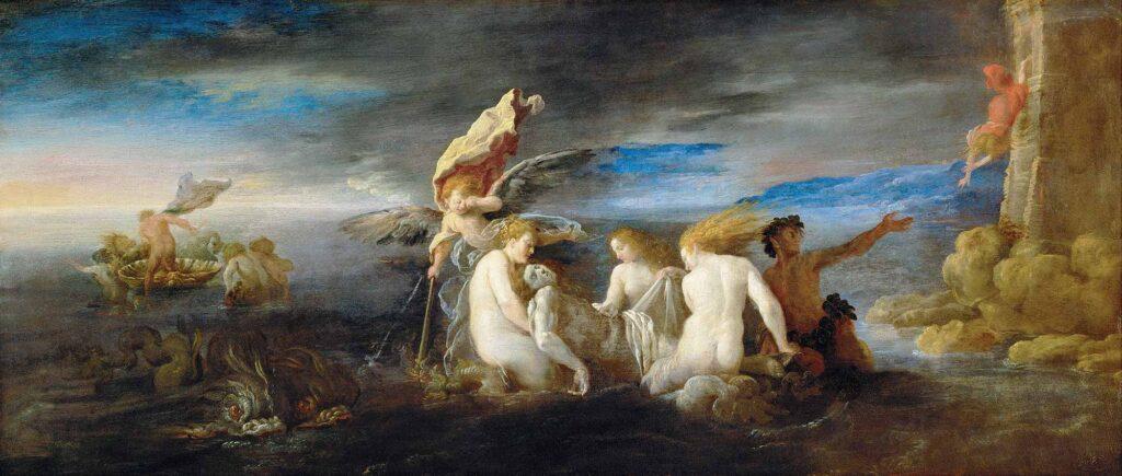 Domenico Fetti Kahraman Leander'in Ölüm Yası - Hero Mourning the Dead Leander